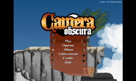 Title Screen for Camera Obscura