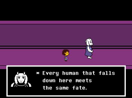 Toriel Human Fate