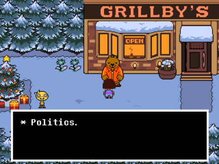 Undertale Politics