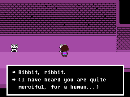 Undertale Ribbit