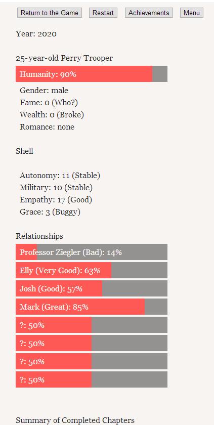 Choice Stats